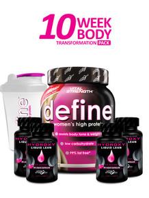 define 10 Week Body Transformation Pack