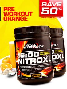 2 X Nitroxl Pre Workout (Orange Crush Only)