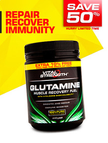 Glutamine Recovery Fuel 400g + 10% FREE