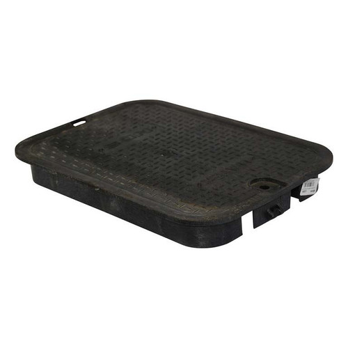 "NDS 14"" x 19"" Valve Box Cover ONLY - Black"