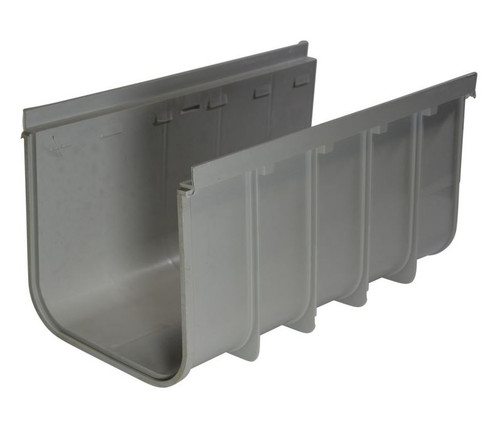 """NDS Pro Series 12"""" Deep Profile Channel Drain"""