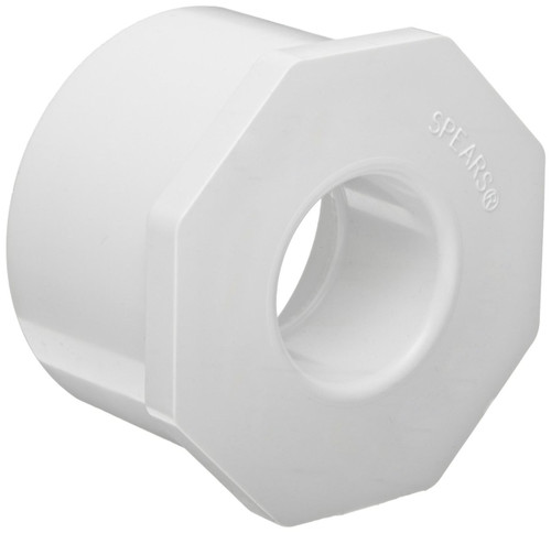 "1 1/4"" x 3/4"" PVC Schedule 40 Reducer Bushing (Sp x S)"