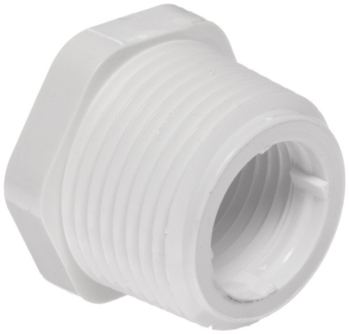 "3"" x 2 1/2"" PVC Schedule 40 Reducer Bushing (MPT x FPT)"