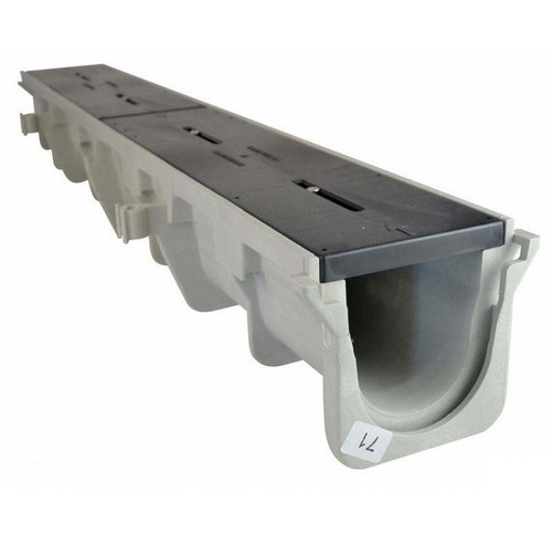 """NDS Dura Slope Channel Drain 094N (5.34"""" Neutral)"""