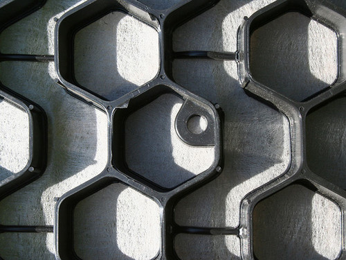 NDS EZ Roll Gravel Pavers 3.87' x 149' (BLACK)
