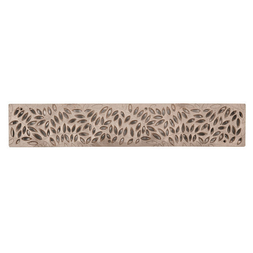 NDS Spee-D Channel Decorative Botanical Grate - Sand (Each)