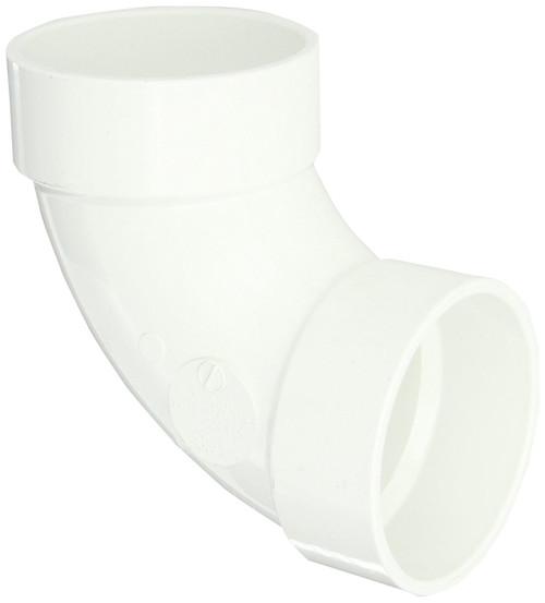 "12"" PVC DWV 90 (1/4) (S x S)"