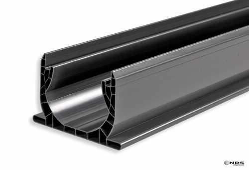 "NDS Spee-D Channel Drain 4"" x 4' (Gray) (Box of 6)"