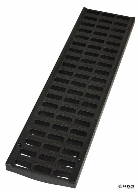 "NDS Pro Series 5"" Light Traffic Channel Grate - Black (Box of 10)"