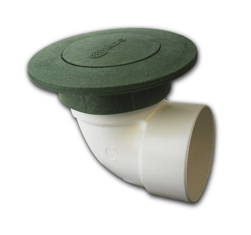 "3"" NDS Pop-Up Emitter with SDR35 Elbow (Green) (Box of 25)"