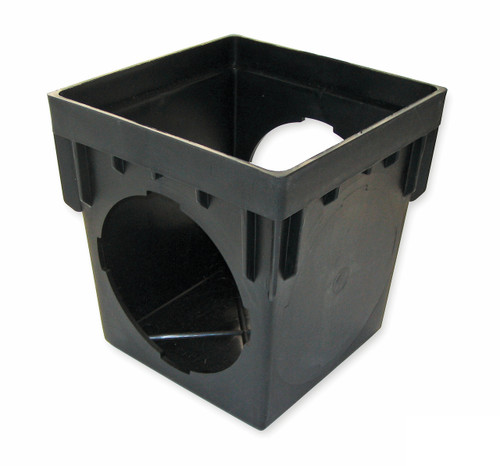 "NDS  9"" x 9"" Catch Basin w/Two Openings (Each)"