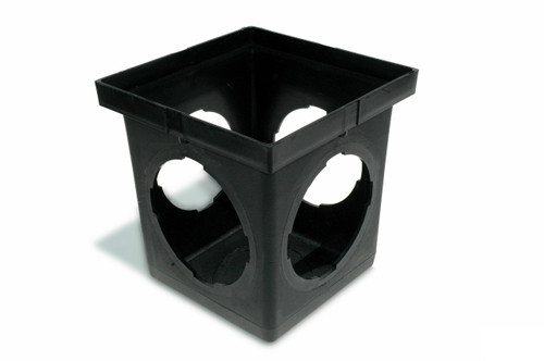 "NDS  9"" x 9"" Catch Basin w/Four Openings (Each)"