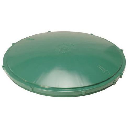 """Tuf-Tite 20"""" Domed Riser Lid (Green)"""