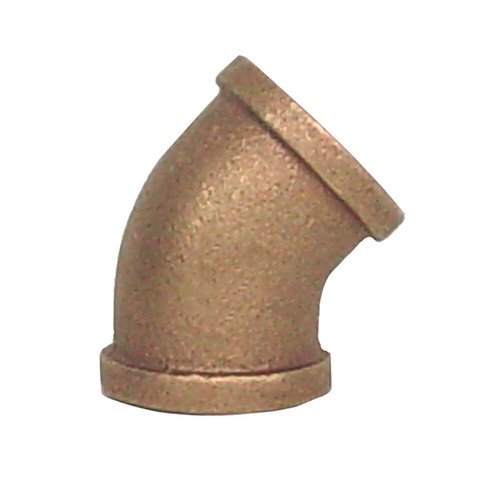 "1"" Bronze 45 Elbow (1/8) (FPT x FPT)"