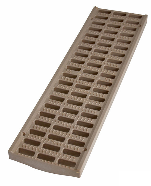 "NDS Pro Series 5"" Light Traffic Channel Grate  - Sand (Each)"
