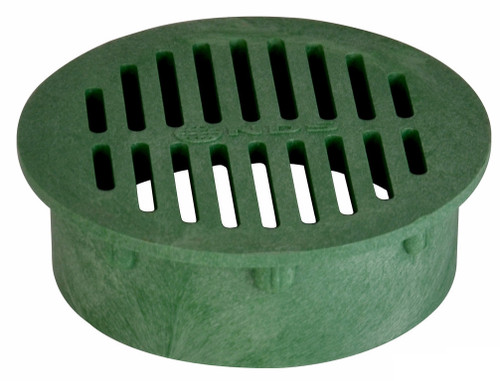 "NDS  6"" Round Grate - Green (Each)"