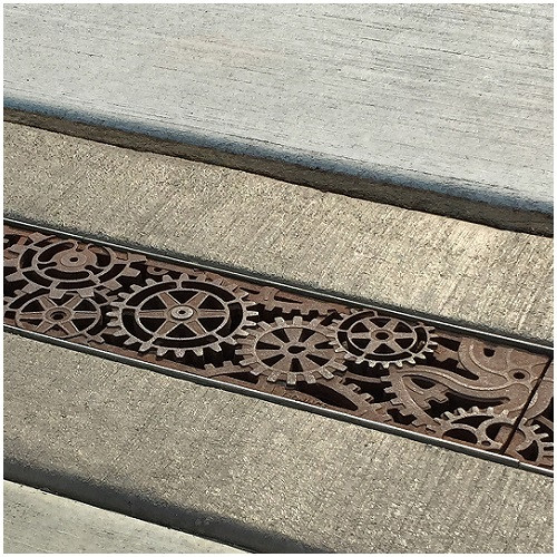 """Iron Age Raw Cast Iron Dynamo Grate 5"""" for ABT, ACO, MEA"""