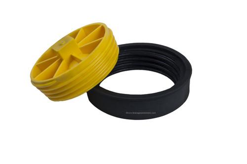 "3"" ""T"" Cone Cleanout Test Plugs (Sch. 40 DWV)"