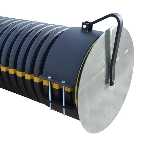 "Flap Gate 12"" for Corrugated Plastic Pipe"
