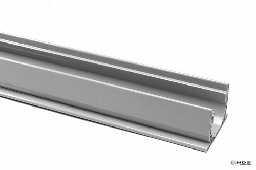 "NDS Spee-D Channel Drain 4"" x 10' (Gray)"