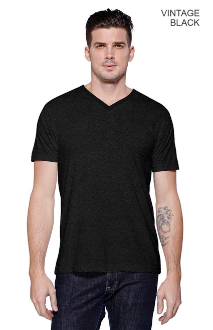 2512 - Men's Tri-Blend V-Neck