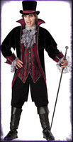 Adult Deluxe Quality Gothic Vampire of Versailles Dracula Halloween Costume