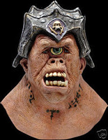 Deluxe Cyclops Monster Creature Halloween Mask Costume