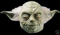 Star Wars Movie Yoda Deluxe Halloween Mask Costume Prop