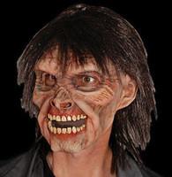 Mr Living Dead Zombie Halloween Mask Costume Prop
