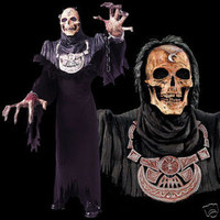 Huge Extreme Adult Grand Reaper Halloween Mask Creature Reacher Costume