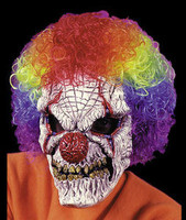 Horror Clown w/ Wig Juggalo Insane Posse Halloween Mask