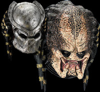 Deluxe Movie Predator Double Halloween Mask Costume