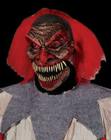 Dark Humor Juggalo Moving Mouth Clown Halloween Mask