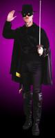 Masked Bandit Zoro Halloween Costume