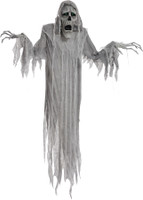 "72"" Life Size Animated Hanging Ghost Spirit Phantom Halloween Prop props Decoration"