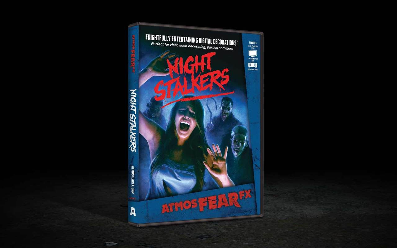night stalkers fx effects haunted projection tv dvd halloween decor