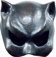 Cat Woman Girl Feline Face Latex Halloween Costume Half Mask