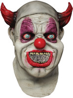 Maggot Mouth Digital Clown Killer Halloween Costume Mask