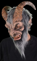 Krampus Demon folklore of Alpine Anti Santa Christmas Halloween Costume Mask