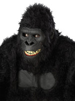 Ani-Motion Goin Ape Gorilla Moving Halloween Costume Mask