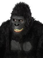 Ani-Motion Goin Ape Gorilla Moving Halloween Costume Mask