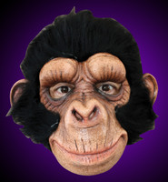 Chimp George Monkey Chimpanzee Ape Friendly Halloween Costume Mask
