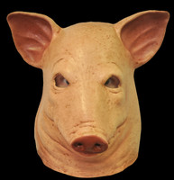 Extreme Saw Movie Blood Pig Skin Head Halloween Costume Mask