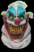 Sloppy the Evil Fat Grinning Clown Killer Halloween Costume Mask