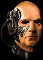 Star Trek Locutus Cyborg Borg Collective Halloween Costume Mask