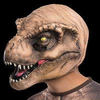 T Rex 3/4 Child Jurassic World Dinosaur Halloween Costume Mask