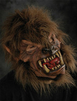 Moonshined Wolfman Werewolf Lone Wolf Man Halloween Costume Hell Hound Mask