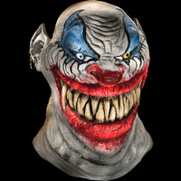 Chopper Evil Grin Grinning Circus Killer Clown Halloween Costume Mask