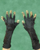 Chimpanzee Ape Chimp Monkey Gloves Monster Arms Hands Halloween Costume Accessories