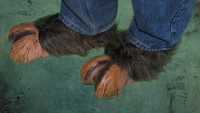 Brown Hooves Goat Monster Feet Shoes Halloween Costume Shoe Covers Accessories